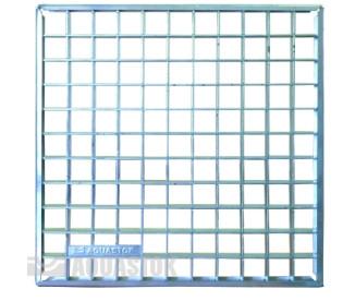 Решетка ячеистая оцинкованная для дождеприемника 300х300